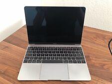 Apple MacBook Retina 12 Zoll 2015, 1.3GHz, 512 GB, 8GB RAM Space Grau