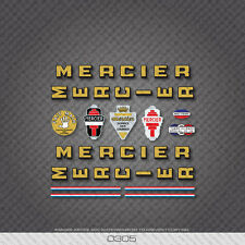 0305 Mercier Bicycle Stickers - Decals - Transfers