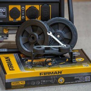 "FIRMAN 8"" wheel kit and handle"