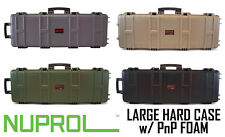 More details for nuprol large hard case pnp foam airsoft/paintball rifle storage free uk postage