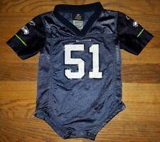 NICE VTG Reebok 12 Fan Seattle Seahawks Youth Outfit Jersey Baby Tatupu 0-12