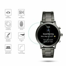 6pcs Tempered Glass Screen Protector Film Guard Fr Fossil Carlyle HR Gen 5 Watch