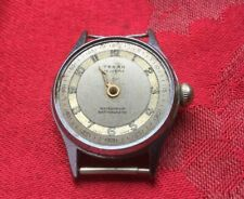 Vintage Gents Military Style Teban Wristwatch Watch  Spares Or Repair