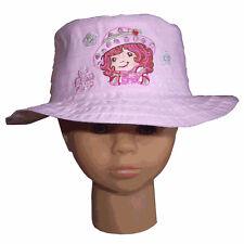 Chapeau Charlotte aux fraises rose 2-4 ans