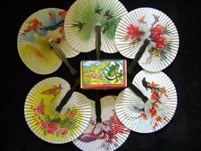 96 folding hand fans,wedding guest,table favor,Pretty Chinese Designs,period