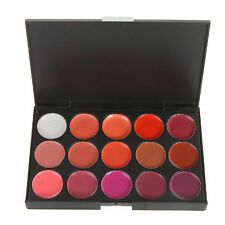 LOVM Cosmetics 15 Colour Rich Complimentary Shades Pro 3D Lip Palette Makeup