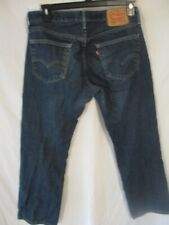 Levi's 559 100% Cotton 32 x 30 Med  Rinse Straight Fit Blue Jeans