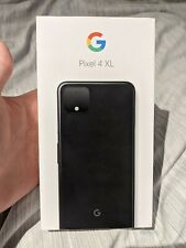 Google Pixel 4 XL - 128GB-SOLO NERO (SBLOCCATO)