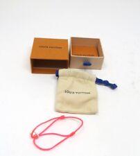 Louis Vuitton  UNICEF   Bracelet  Silver Lockit  Ag 925 A31466  Pink Silk