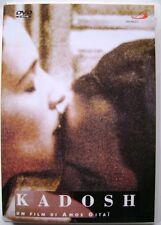 Dvd Kadosh di Amos Gitai 1999 Usato raro fuori cat.