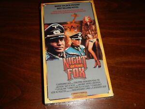 NIGHT OF THE FOX (VHS) George Peppard, Michael York, John Mills - Sealed