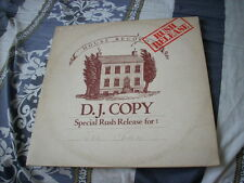 a941981 Amina of  Chopsticks HK House Record Promo LP 阿美娜 No Face on the Cover