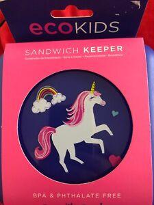 ECOkids Unicorn Sandwich Keeper