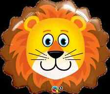 "29"" SUPERSHAPE FOIL BALLOON ""LOVABLE LION"" ANIMAL HEAD"