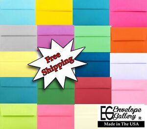 Multi Assorted A2 A6 A7 for Greeting Cards Invitations Showers Weddings Holidays