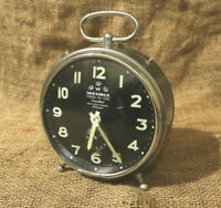 Alarm Clock Wehrle three in one (صنع فى المانيا) Rare Condition Alarm Clock #79