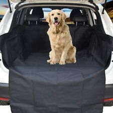 WeFine Car Boot Liner for Dogs Universal Waterproof Car Boot Cover with Bumper F