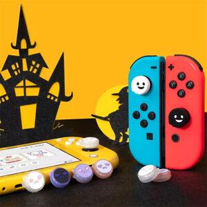 For Nintendo Switch/Lite/Joycon Ghost Thumb Grips Cover Joystick Rocker Cap 4pcs