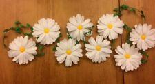 Handmade Felt Daisy Chain Garland, Flower Garland, Daisies, Floral Decor