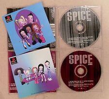 SPICE GIRLS * TOO MUCH * UK PROMO & 2 CD SET * HTF! * SPICEWORLD