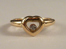 VVS1 Echte Diamanten-Ringe im Solitär mit Akzentsetzung-Stil aus Gelbgold