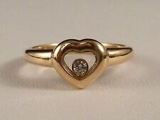 Chopard VVS1 Echte Diamanten-Ringe aus Gelbgold