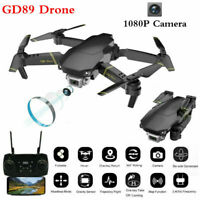 2.4GHz RC Drone Wifi FPV 1080P HD Camera 4CH 6 Axis Selfie Foldable Quadcopter