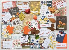 Junk Journal Supplies Autumn Thanksgiving 50 New Papers, Thanksgiving Quotes