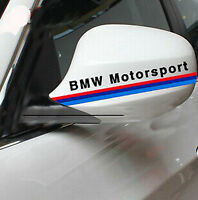 A Pair Amazing Rearview Mirror Car stickers Decals Graphics For BMW (Black)