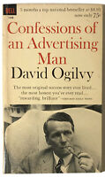 CONFESSIONS OF AN ADVERTISING MAN David Ogilvy VTG 1964 Dell Paperback | Mad Men
