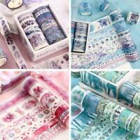 10*Serie Material Papier Dekoratives Tagebuch Sticker Nett Scrapbooking Sup L9F1
