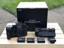Fujifilm X-H1 XH1 with Power Grip, 3pcs battery Agsbeagle