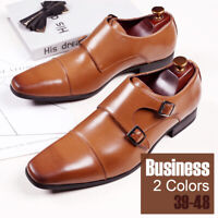 Men's Oxfords Business Dress Pointed Toe Leather Shoes Casual Shoes Loafers Work