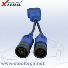 6+9 Pin To 16 Pin OBD II Adapter Diagnostic Cable Cummins For Heavy Diesel Truck