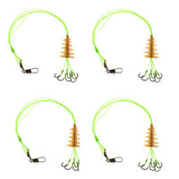 4 Pieces/box Carp Fishing Hooks High Carbon Steel Explosion Hook Tackle