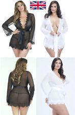 Lace Robes Short Lingerie & Nightwear for Women