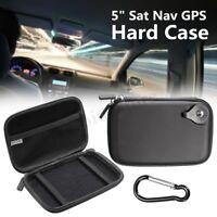 5'' Sat Nav Navigation GPS Hard Carry Case For TomTom GO 5100 5000 510 500