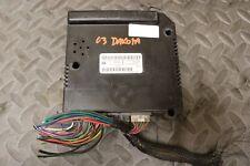 * 02-04 Dodge Dakota BCM CTM Central Timing Alarm Body Module TESTED 56049072AG