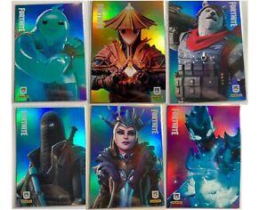 2020 Fortnite Series 2 Trading Cards Holo Foils & Optichrome - CHOOSE/PICK Cards