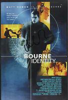 Bourne IDENTITY personally signed 12x8 - MATT DAMON as Jason Bourne