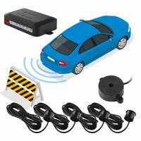 Car Parking Reversing 4 Sensor Kit Buzzer Audio Alarm Detection Distance MA2109