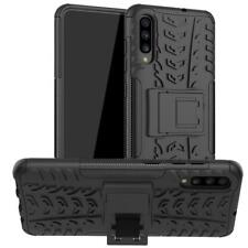 For Samsung Galaxy A70s Case AMZER Warrior Dual Layer Cover with Stand