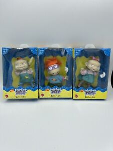Lot of 3 Nickelodeon Rugrats Collectible Action Figure Toys Mattel SEALED!!!