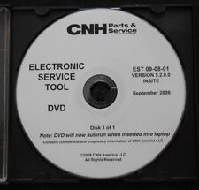 CUSTODIA HOLLAND CNH ELECTRONIC SERVICE TOOL SOFTWARE VERSION 5.2.0.0 SEPT 2008