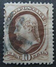US United States Sc. Scott 150 $35 10c Fancy Cancel Fine Used A5866