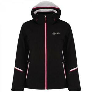 Womens Dare2b Emblem Ski Jacket Black