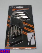 Innensechskant-Schlüsselsatz z.B Inbus Größen: 1,5/2/2,5/3/4/5/6/8/10 mm Neu OVP