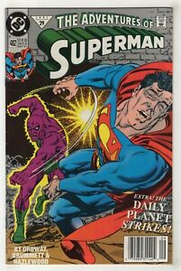 Adventures of Superman #482 (Sep 1991, DC) [Parasite] Choose Direct or Newsstand