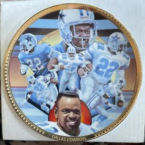 1993 Sports Impressions Emmitt Smith Collector Plate COA