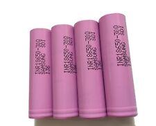 4 x Samsung Li-Ionen Akku | SDI INR18650 30Q | 3,7V 3000mAh | f. e-Zigaretten